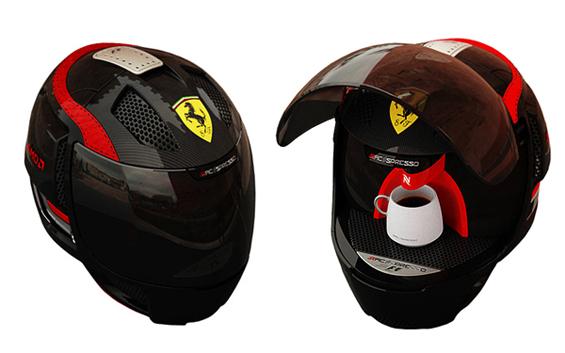 Еспресо машина брендирана од Ферари