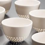 Порцелански предмети изработени со техниката оризово зрно