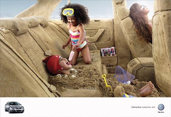 Креативни реклами за автомобили - Volkswagen Jetta
