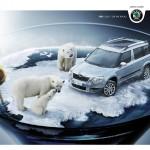 Креативни реклами за автомобили - Skoja Yeti