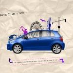 Креативни реклами за автомобили - Toyota Yaris