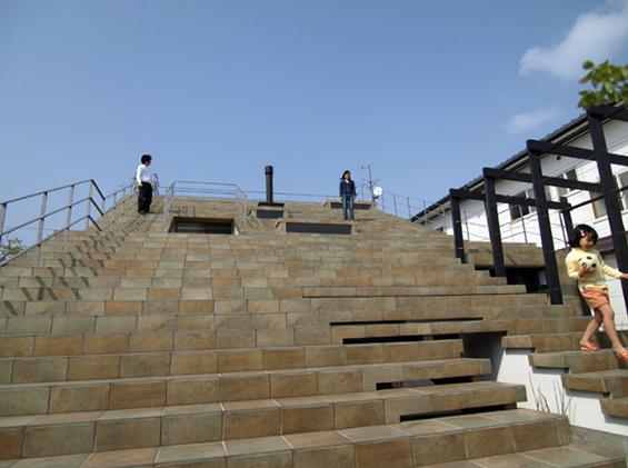 (1) Кул архитектура: Куќа со скали наместо кров
