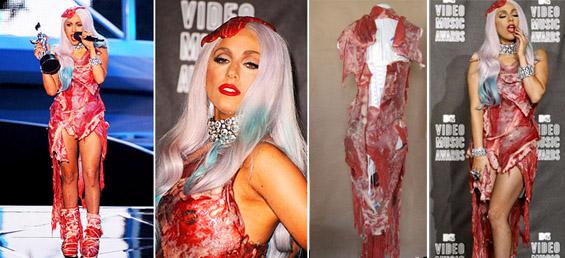 8 необјавени факти за фустанот од месо на Лејди Гага