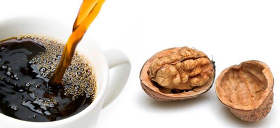 Кафе со ореви