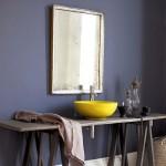 Изберете модерни бои при преуредувањето на вашата бања