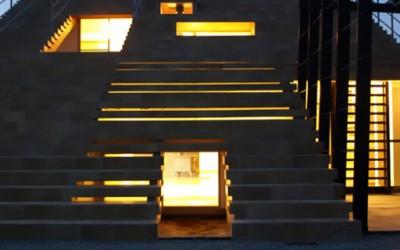 Кул архитектура: Куќа со скали наместо кров