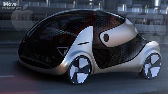 """iMove – концепт автомобил инспириран од производите на """"Епл"""""""