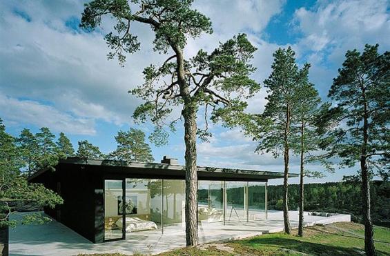 (4) Неверојатна куќа покрај езеро