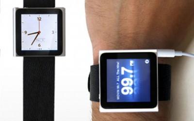iPod nano како часовник на вашата рака