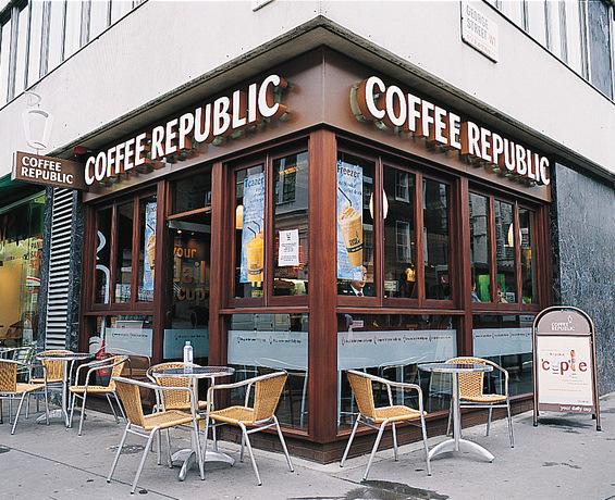 На кафе во Софија, Р.Бугарија