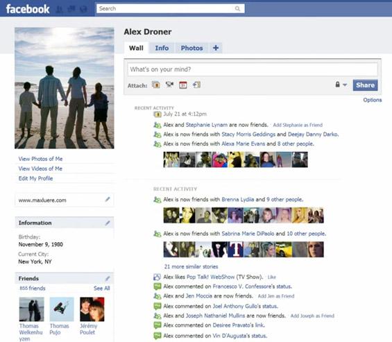 Еден цел живот на Фејсбук