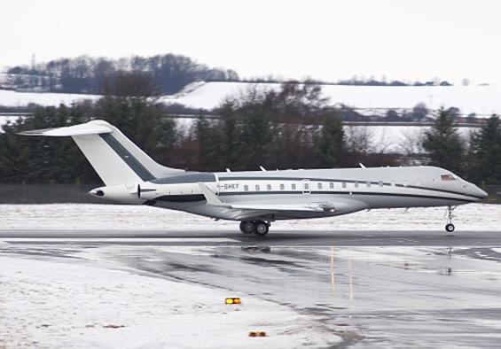 Приватните авиони на богатите