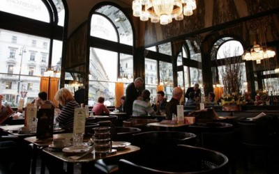 На кафе во Виена
