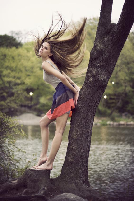 Мода низ фотографиите на Дејвид Eрбанки