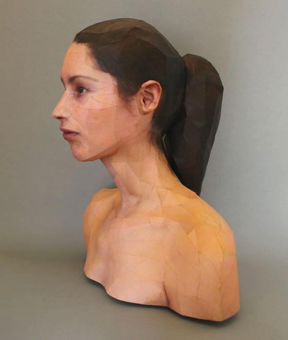 Портрети од хартија во 3Д