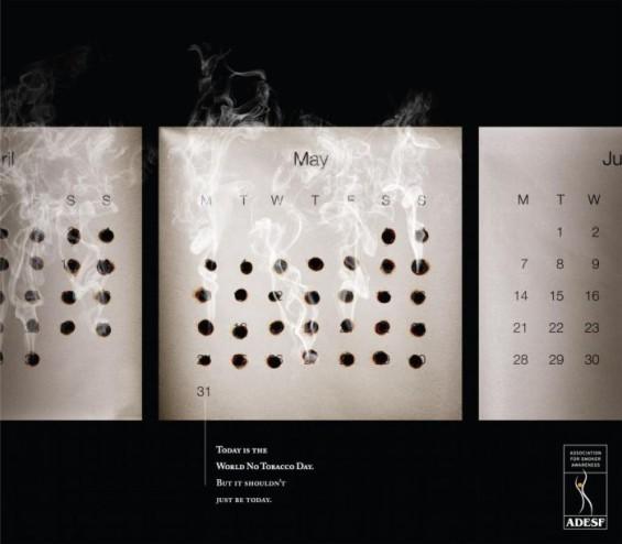 Шокантни постери за цигарите