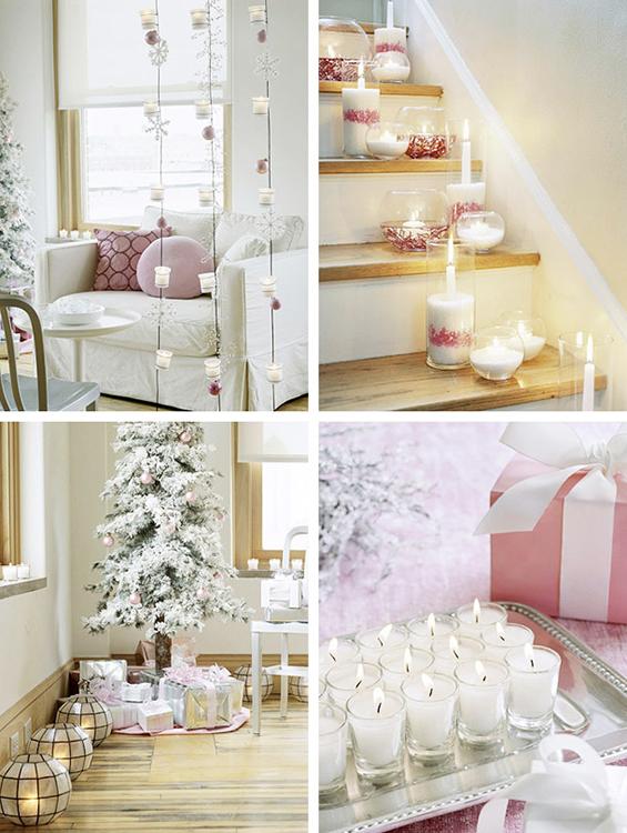 (1) Декорација на Божиќни свеќи