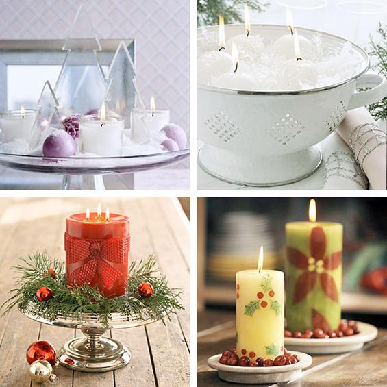 (2) Декорација на Божиќни свеќи