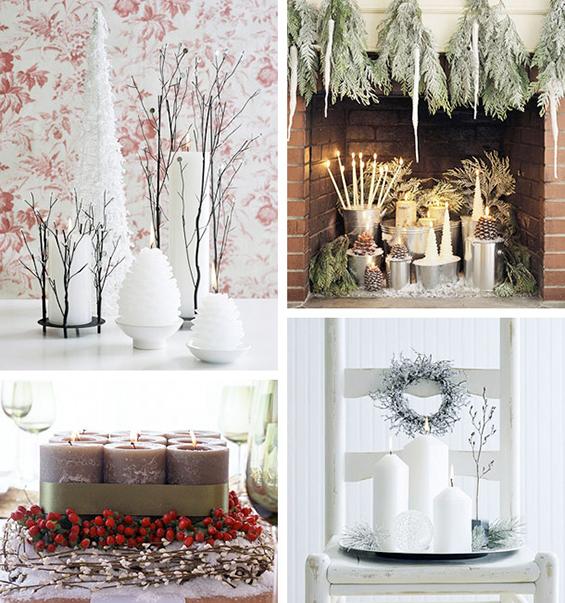 (3) Декорација на Божиќни свеќи