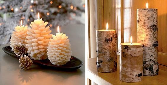 (5) Декорација на Божиќни свеќи