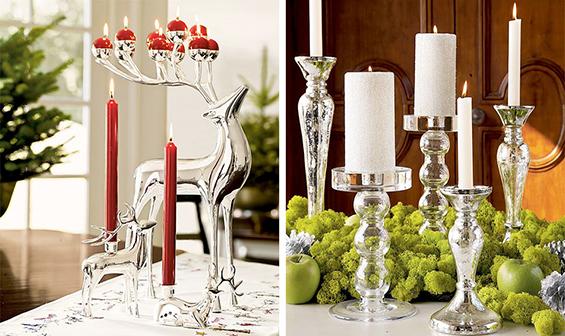 (7) Декорација на Божиќни свеќи