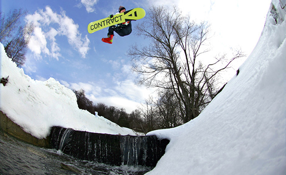 (7) Почувствувајте ги брановите на вашиот нов сноуборд оваа сезона