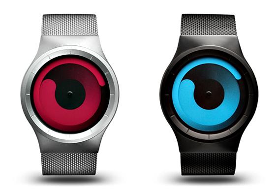(1) ZIIIRO: неверојатно кул часовник