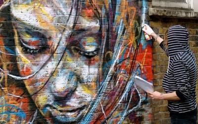 Улични портрети направени без четка