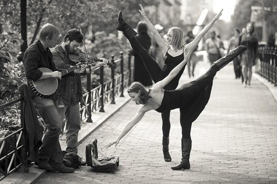 Танц во воздух