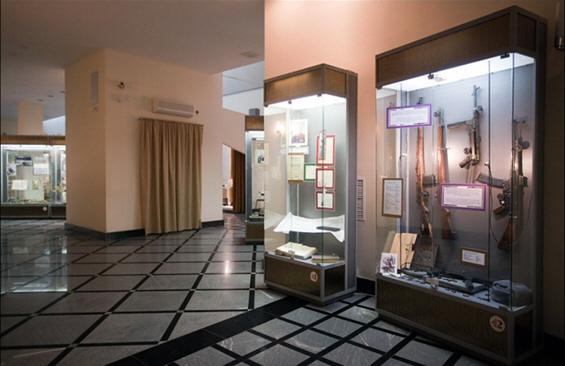 Музејот Калашников во Ижевск, Русија