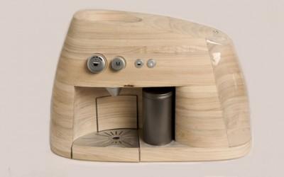 Дрвена еспресо машина