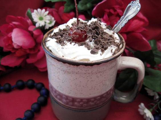 Чоколаден кафе бакнеж (Chocolate coffee kiss)