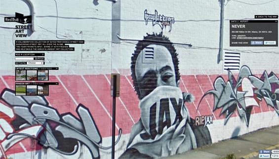Светската улична уметност на интерактивна мапа