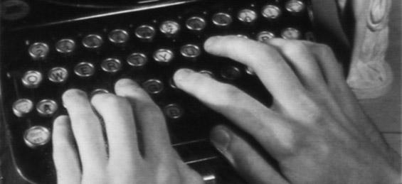 Машина за пишување како перкусија во Виенски оркестар