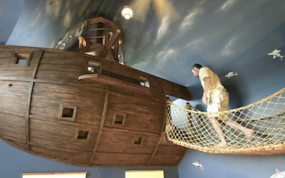 Пиратска соба за деца