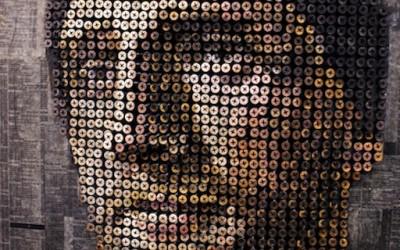 Портрети од илјадници шрафови