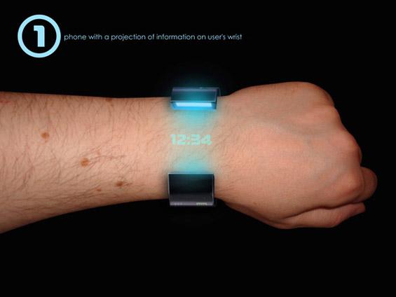 Rollerphone - телефон-часовник од иднината