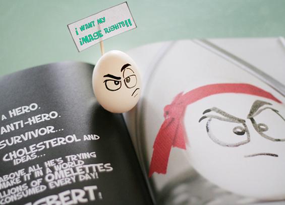 (3) Што сé можете да направите со вашите јајца?