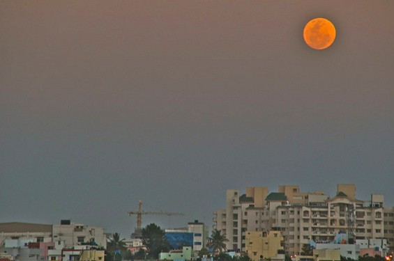 50 прекрасни фотографии од супер месечината низ светот
