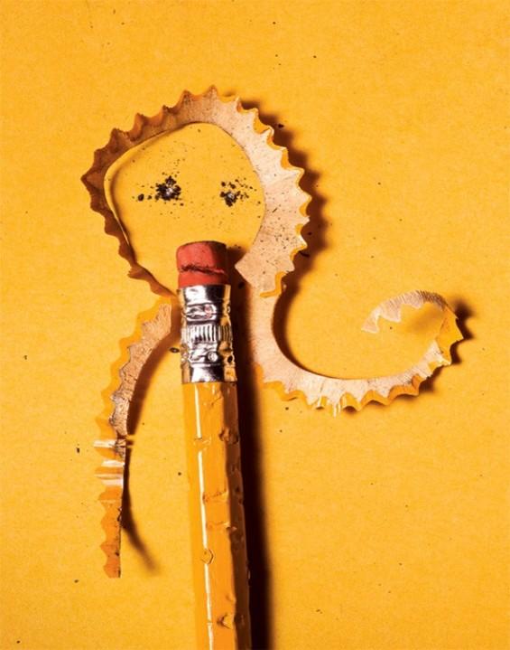 Интересна уметност од секојдневни предмети