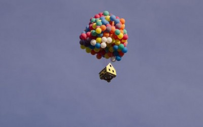 """Вистинска летечката куќа од анимираниот филм на Pixar """"Up"""""""