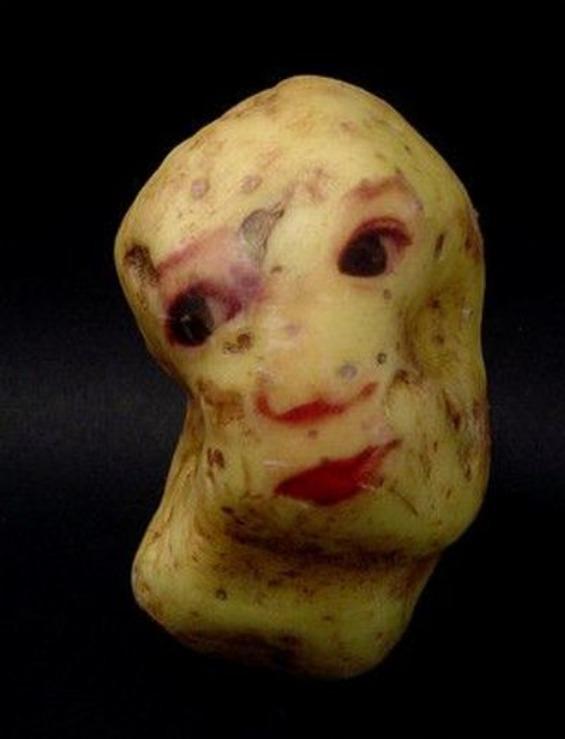 портрети на компири