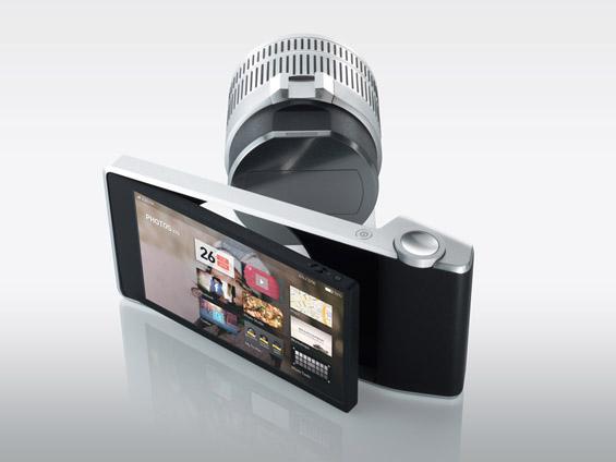 Фотоапарат со безжични леќи