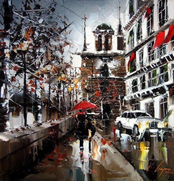Животот на улица преку колоритни цртежи