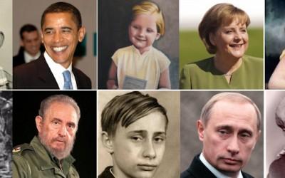 Светскиот политички врв некогаш и сега
