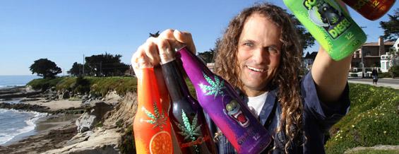 Газирани пијалаци со марихуана