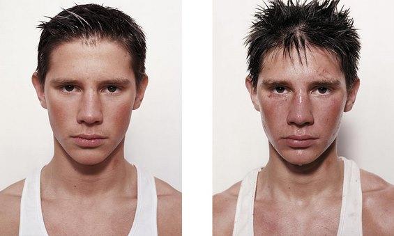 Боксерите пред и после борба во рингот