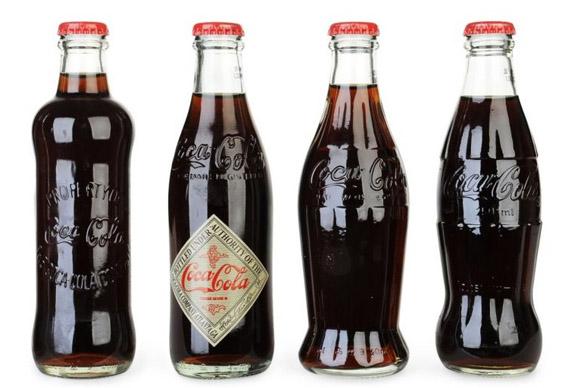 Првите шишиња на Кока-кола