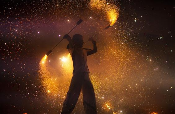 Фестивалот на огинот во Киев