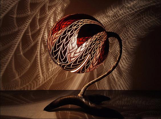 Егзотични ламби направени од тиква